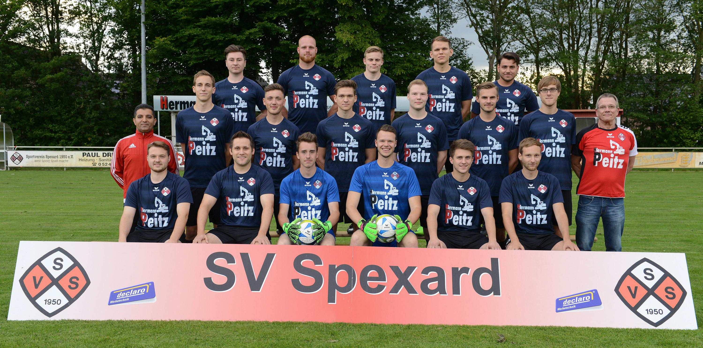 Mannschaft Sv Spexard 1950 E V